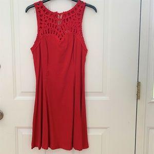 Women's Casual Tank Red Dress